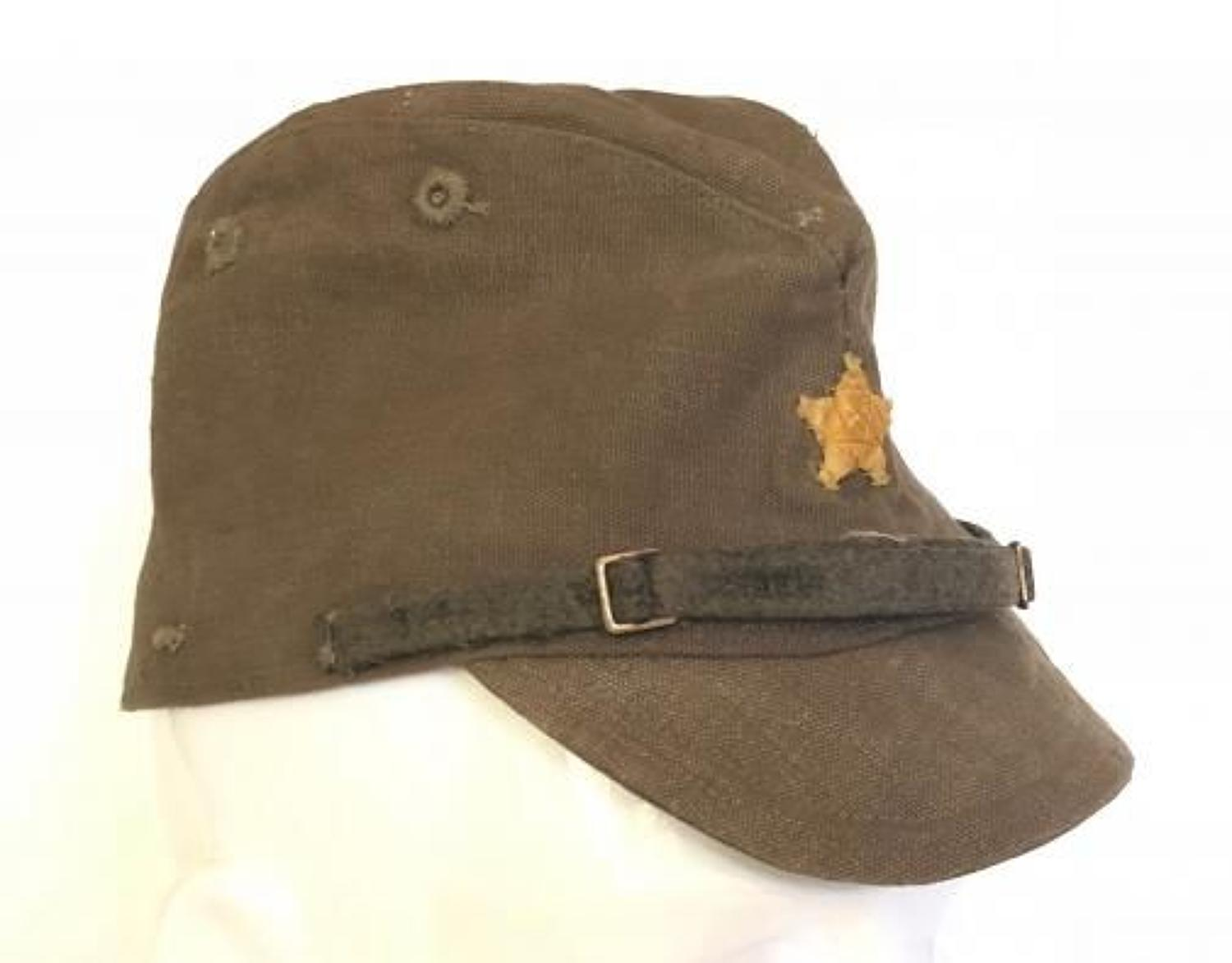WW2 Japanese Army Other Rank's Cap.