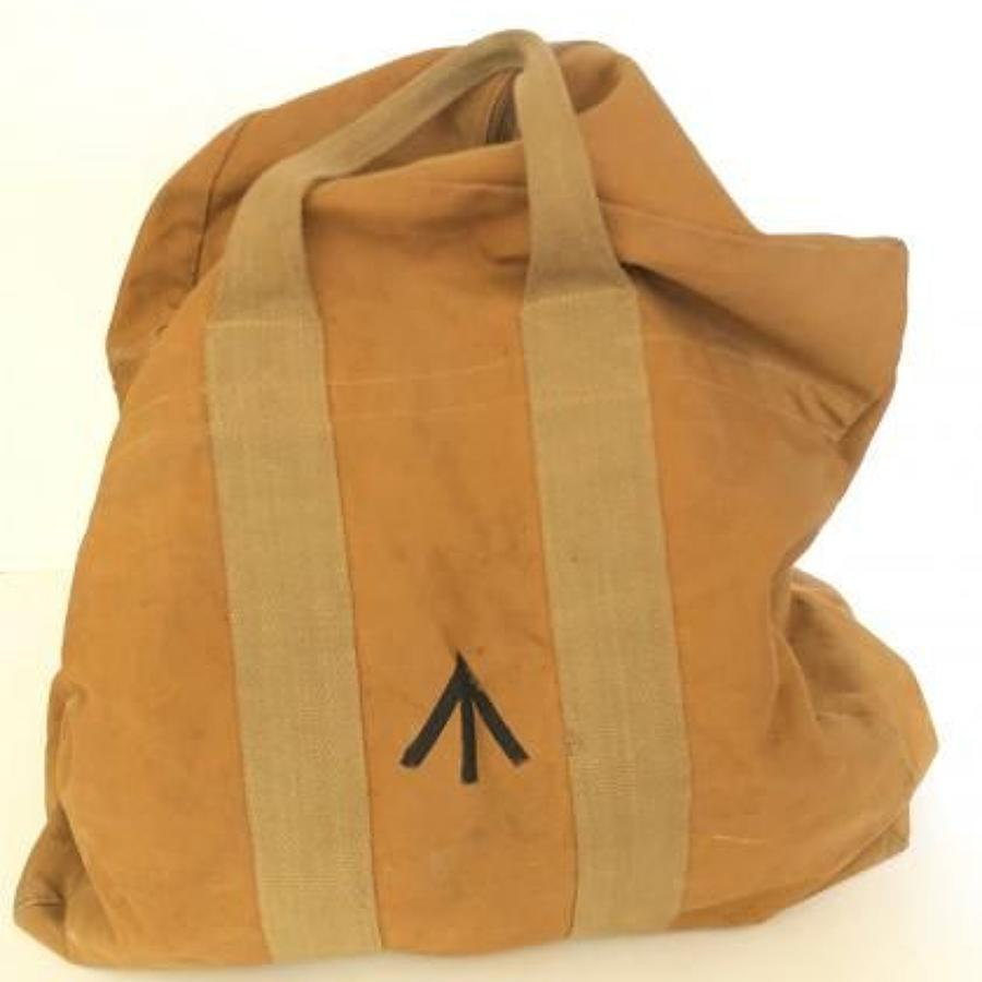 WW2 Pattern RAF Aircrew Parachute Bag.