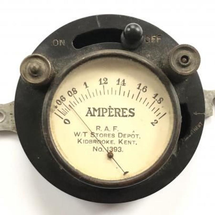 RAF Interwar Wireless Instrument.