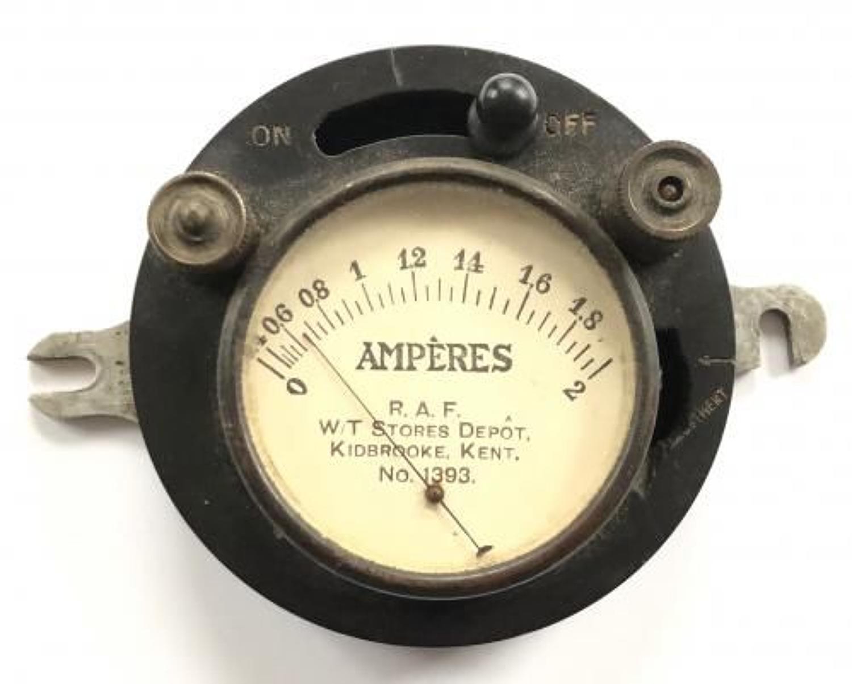 RAF Interwar Wireless Instrument.