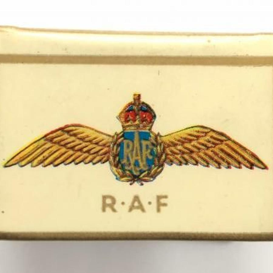 WW2 RAF Match Box Cover