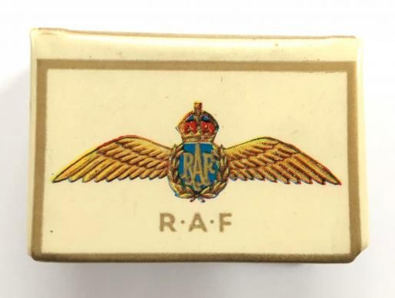 WW2 RAF Match Box Cover