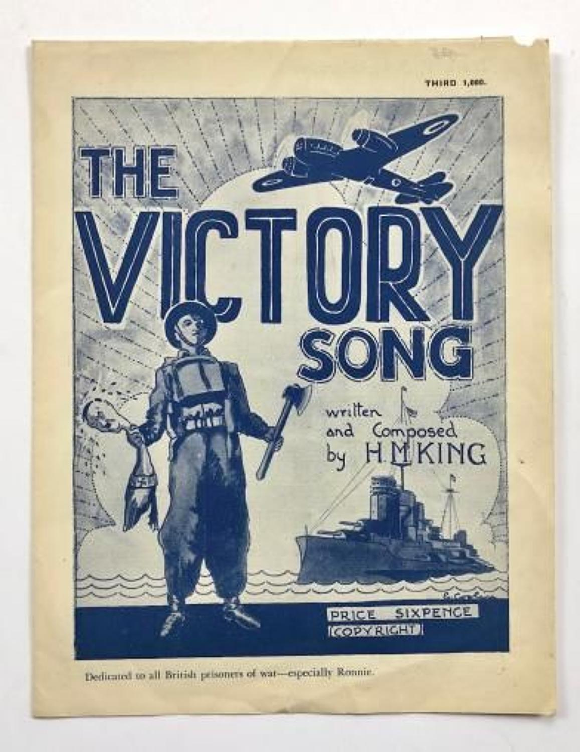 WW2 Home Front Music Sheet