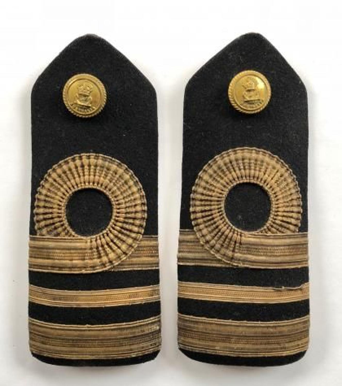 WW2 Royal Australian Navy Lieutenant Commander Shoulder Boards