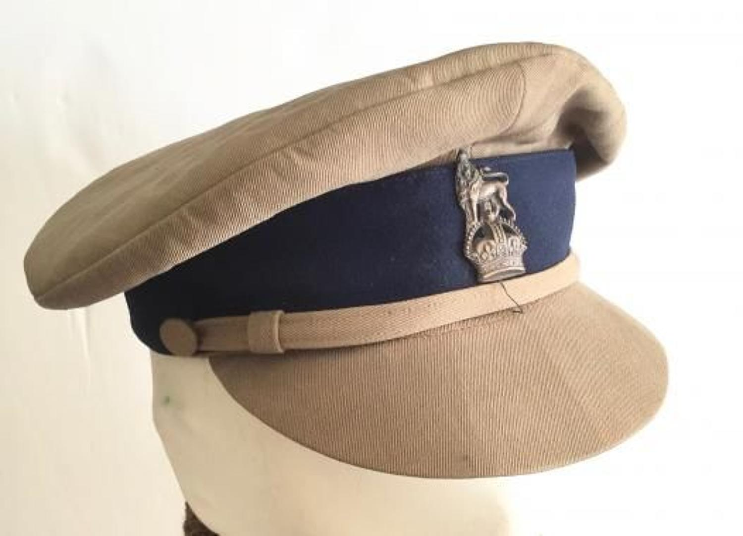 WW1 Middle East Ordnance Staff Officer Cap.