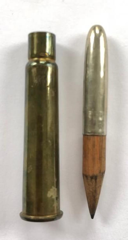 WW1 Princess Mary Christmas 1914 Gift Fund Pencil Army Navy.