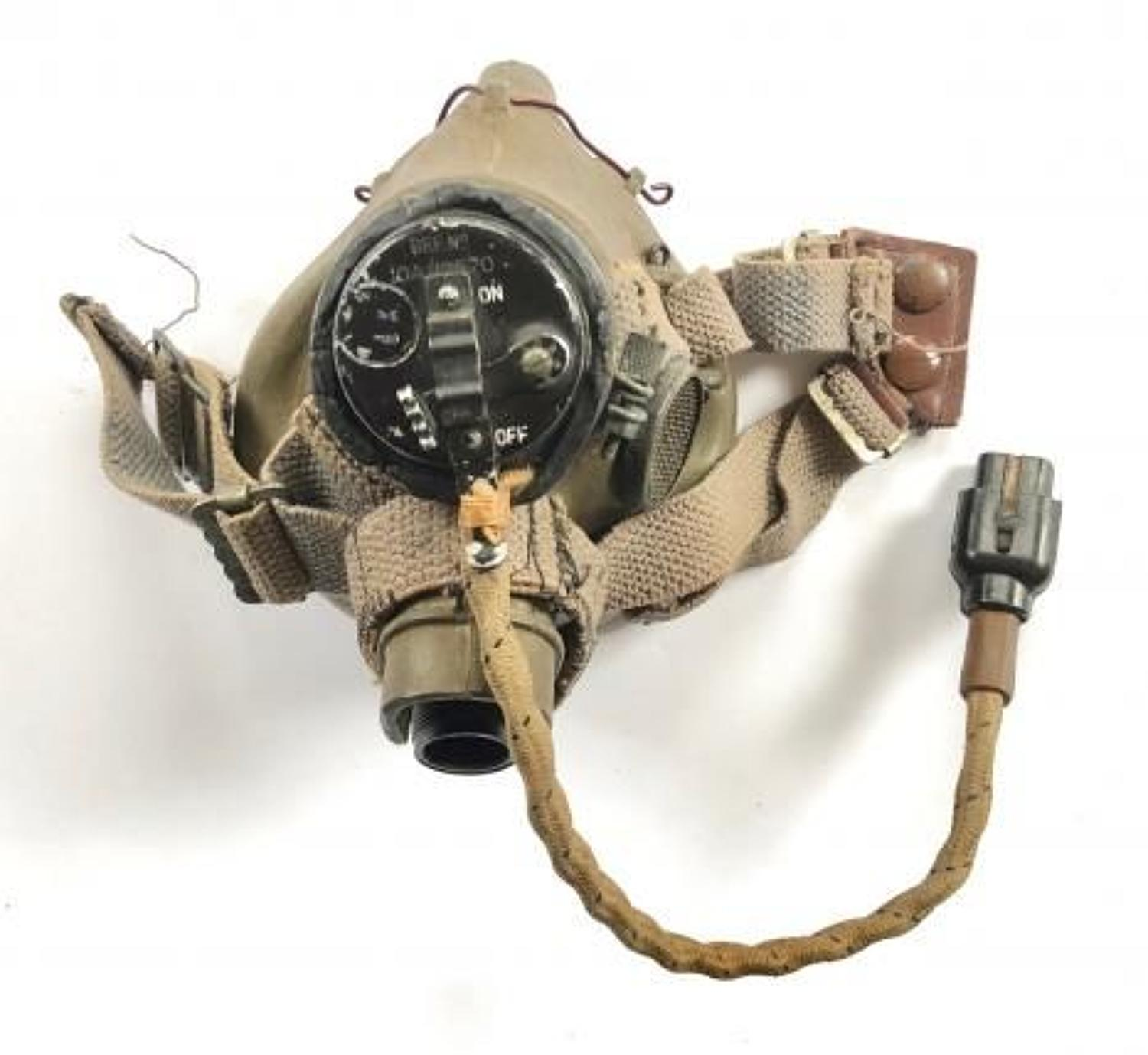 WW2 RAF Aircrew Issue G Type Oxygen Mask.
