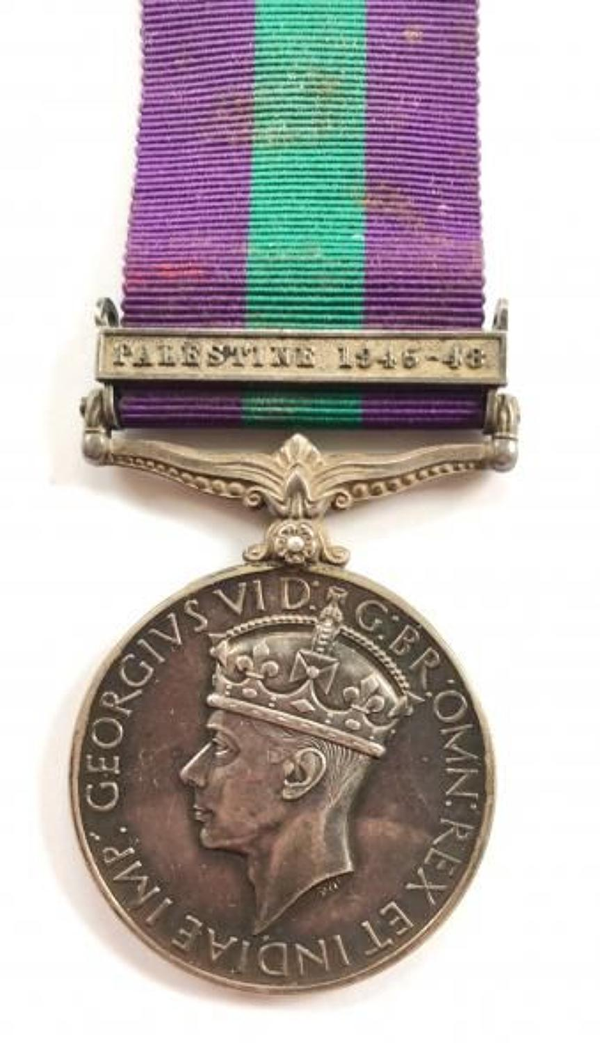 Coldstream Guards General Service Medal Clasp