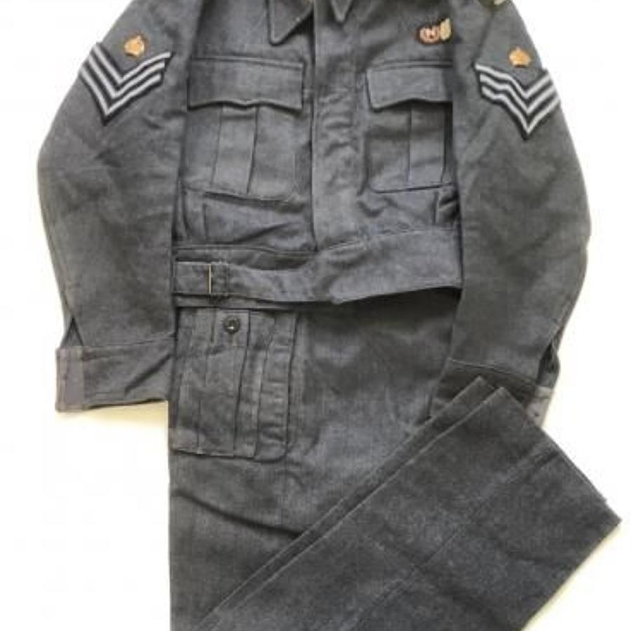 WW2 RAF Navigator Battledress Uniform.