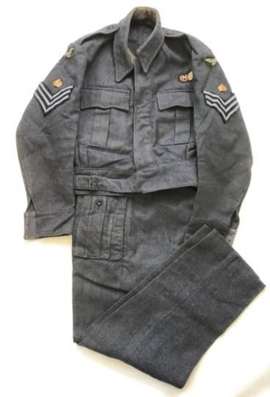 WW2 RAF Navigator Battledress Uniform.