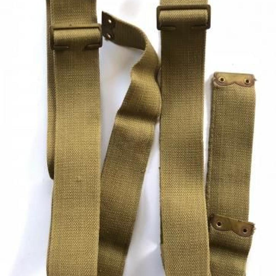 WW1 1908 Pattern Brace Straps and Buckles