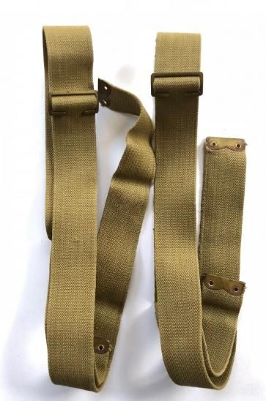 WW1 1908 Pattern Brace Straps and Buckles