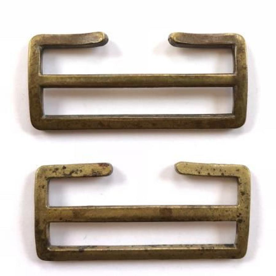 WW1 , 1908 Pattern British Webbing Buckles.