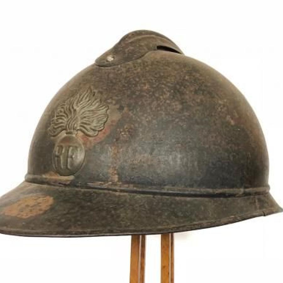 WW1 French Infantry Helmet.