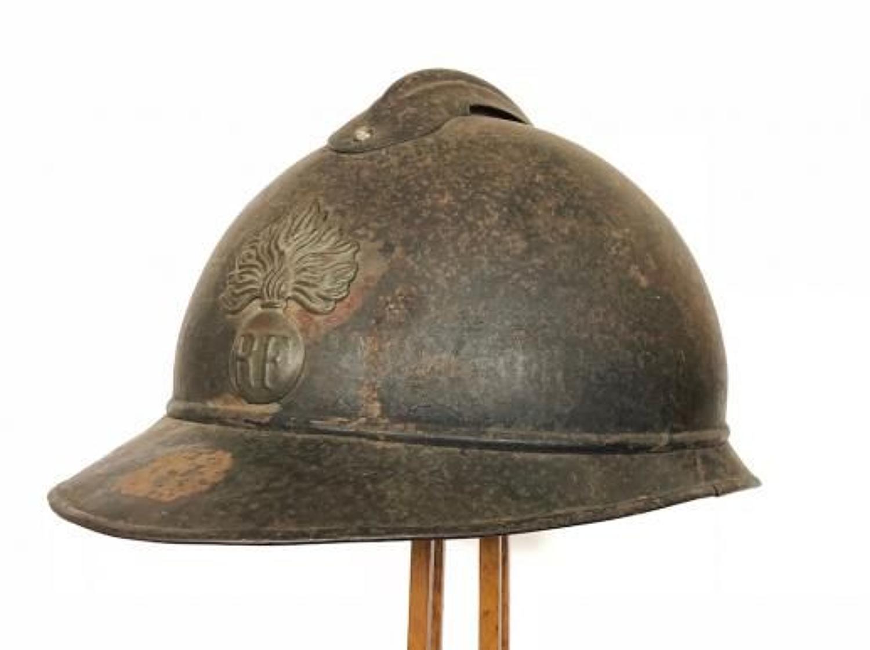 WW1 French Infantry Helmet.