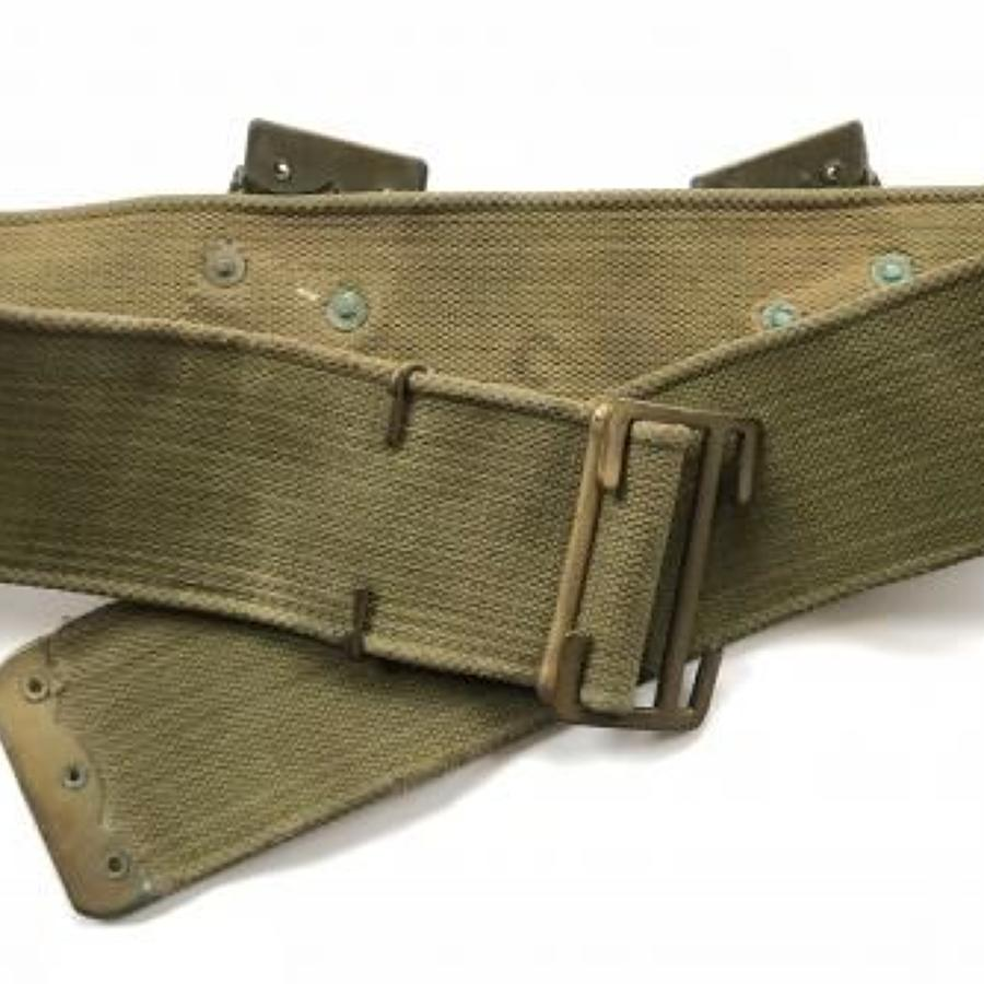 WW1 1908 Pattern Webbing Belt.