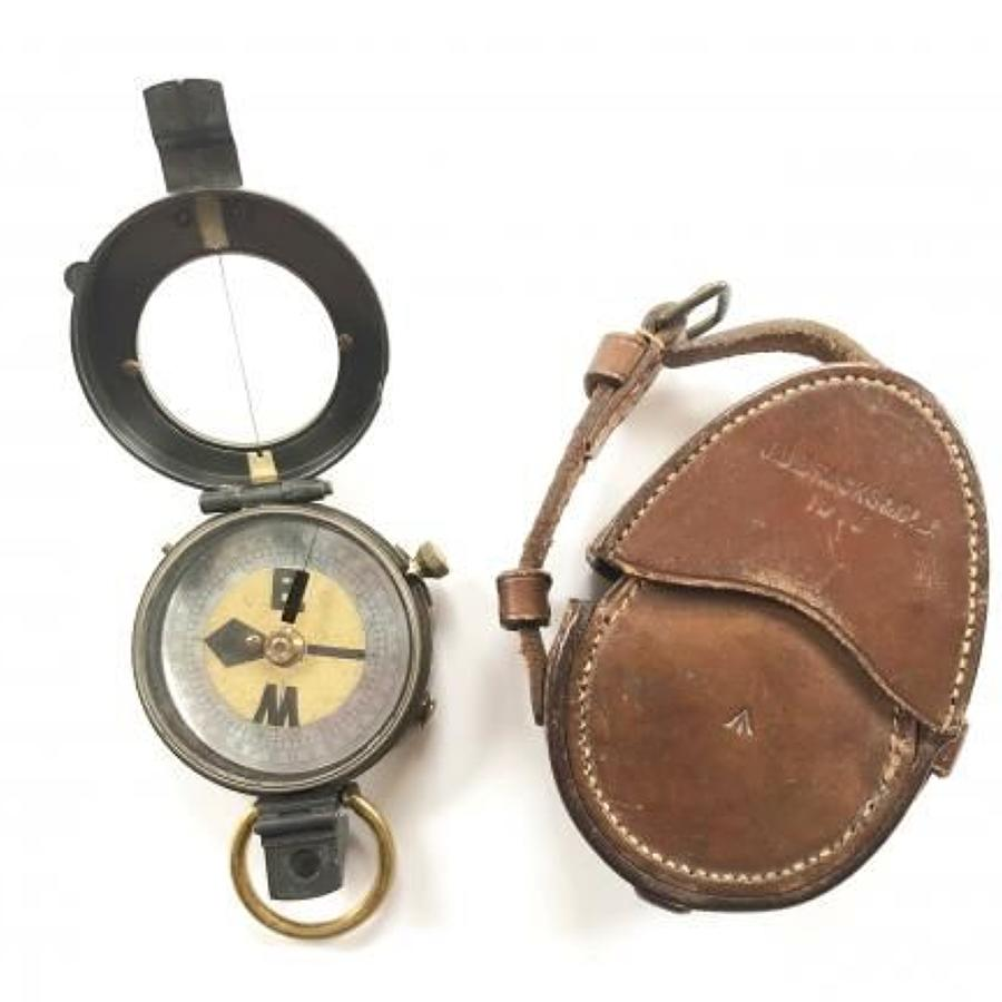 British Army Pre WW1 Battle of Mons Period Issue Compass.