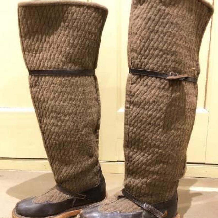 "RAF North West Frontier Aircrew ""Fug Boots"""