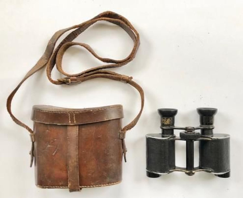 WW1 Royal Naval Division / Tank Corps Binoculars.