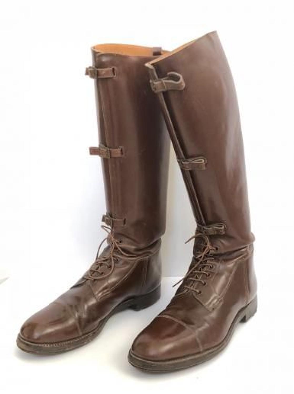 Late WW1 Interwar Pattern Officer's Boots.