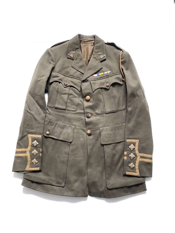 WW1 Royal West Kent Officer's Cuff Rank Service Dress Tunic.