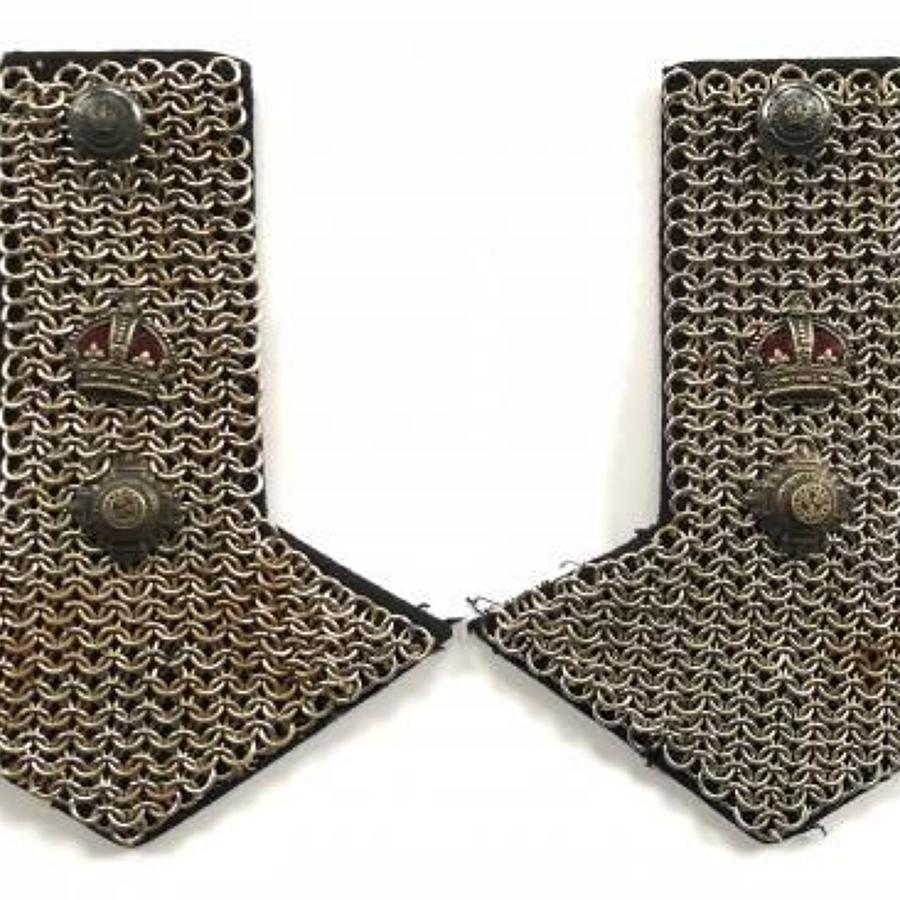 North Somerset Imperial Yeomanry Officer's Shoulder Chains.