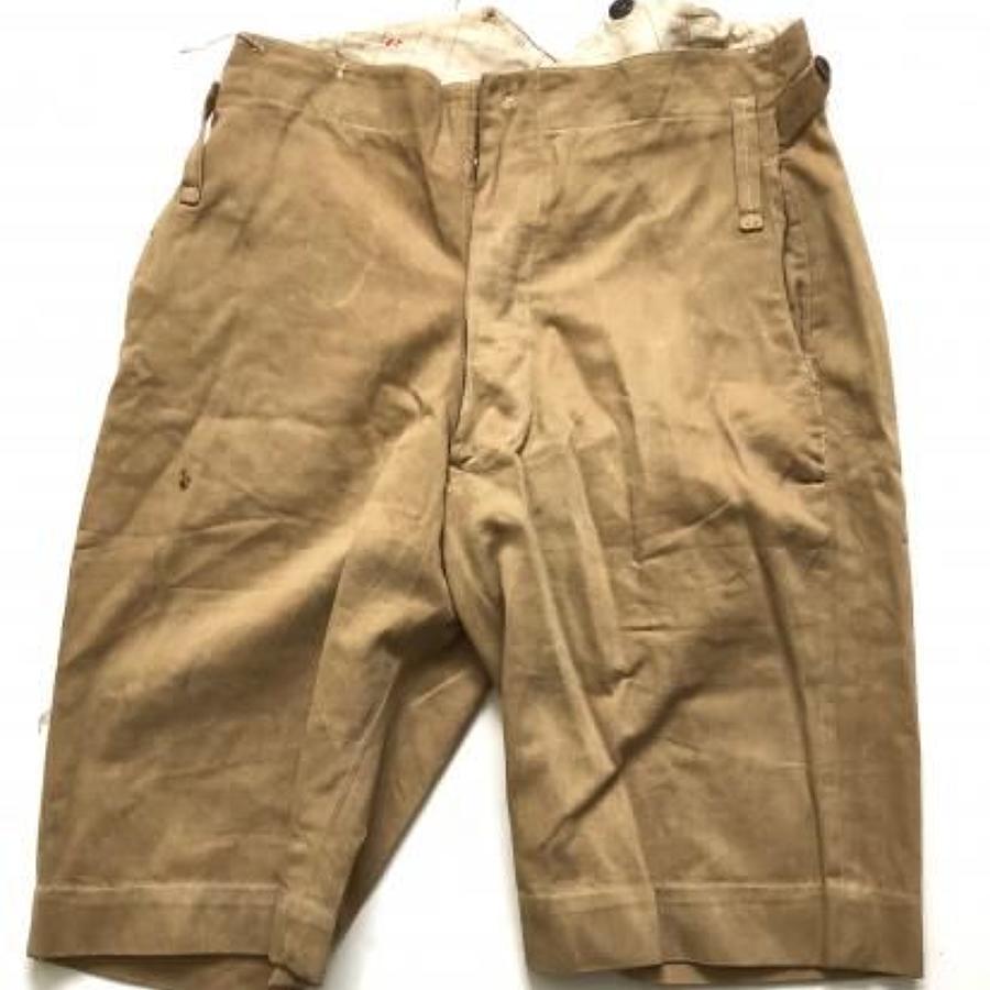 WW1 / WW2 Officer's Pattern KD Shorts,