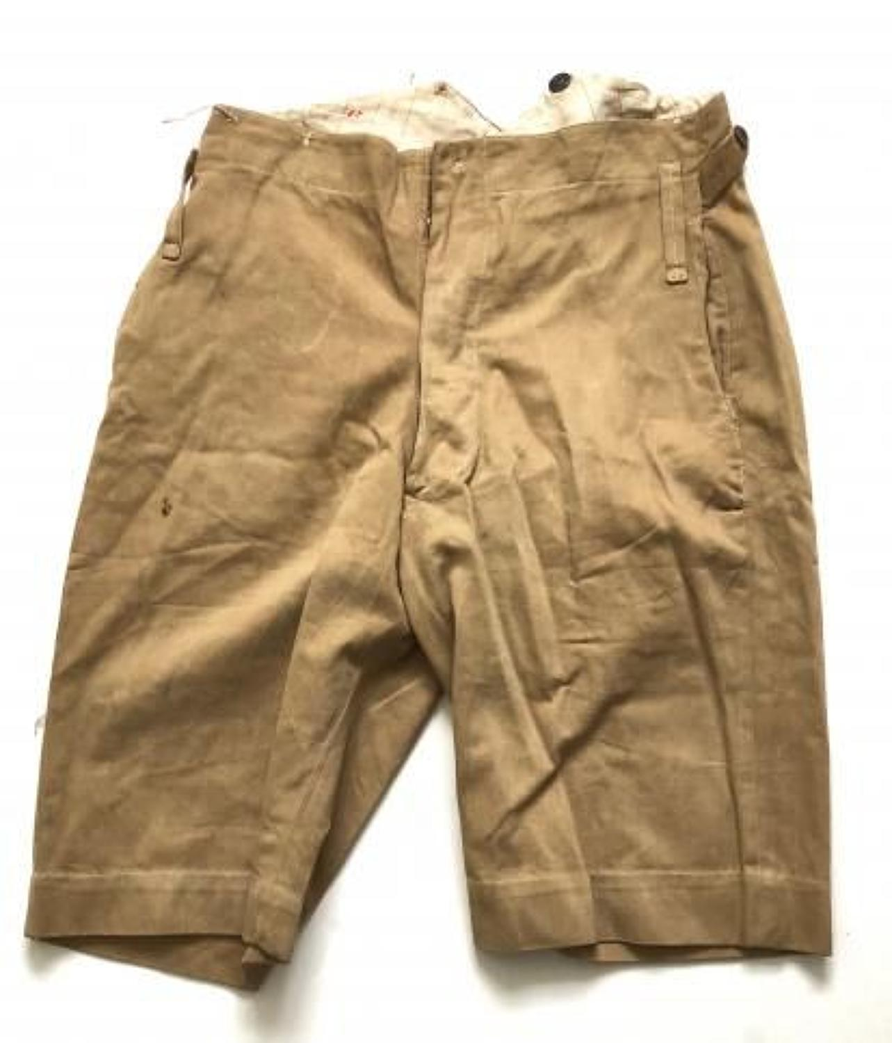 WW1 / WW2 Officer's Pattern KD Shorts,