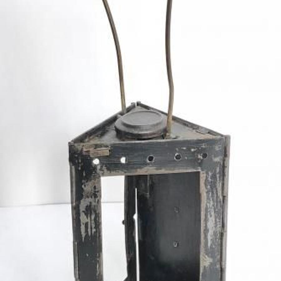 WW1 Period French Folding Trench Lantern