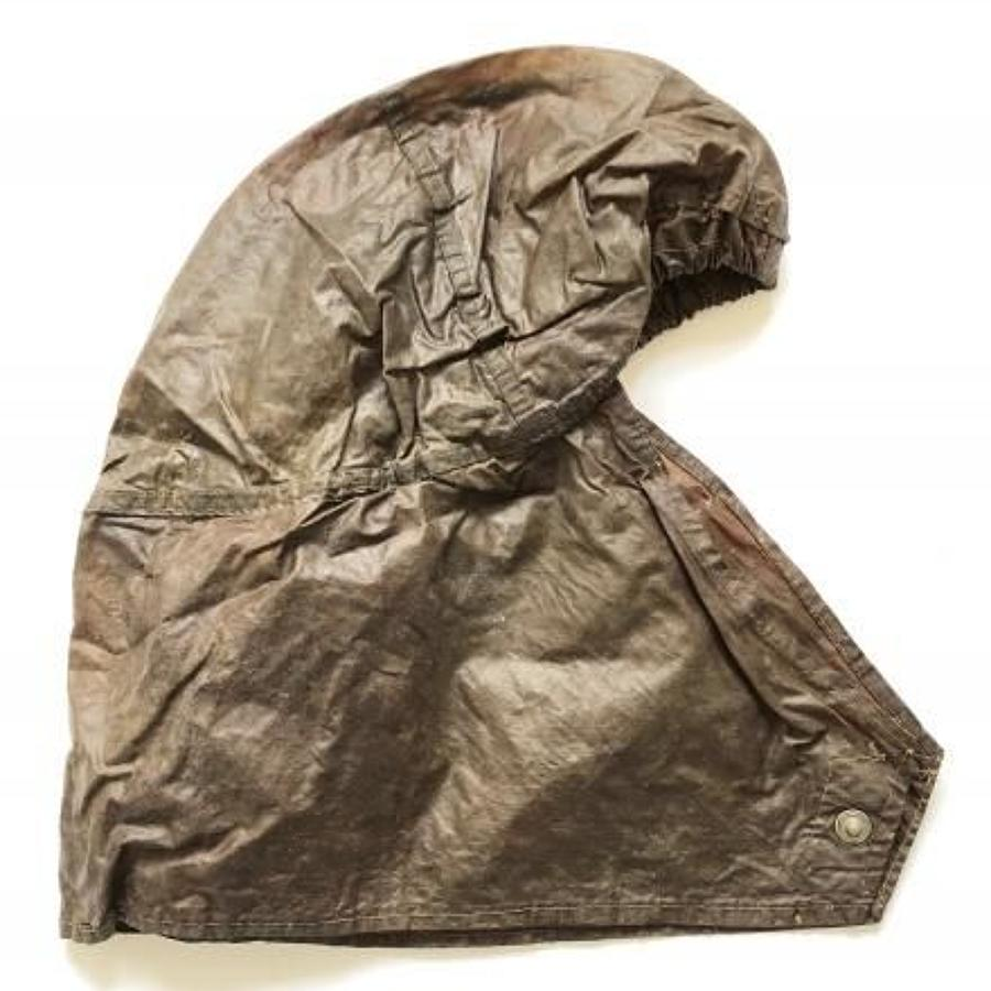 WW2 British Anti Gas Helmet Cover.