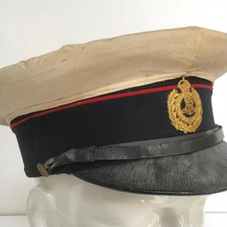 Edward VII Royal Engineers Officer's Cap.
