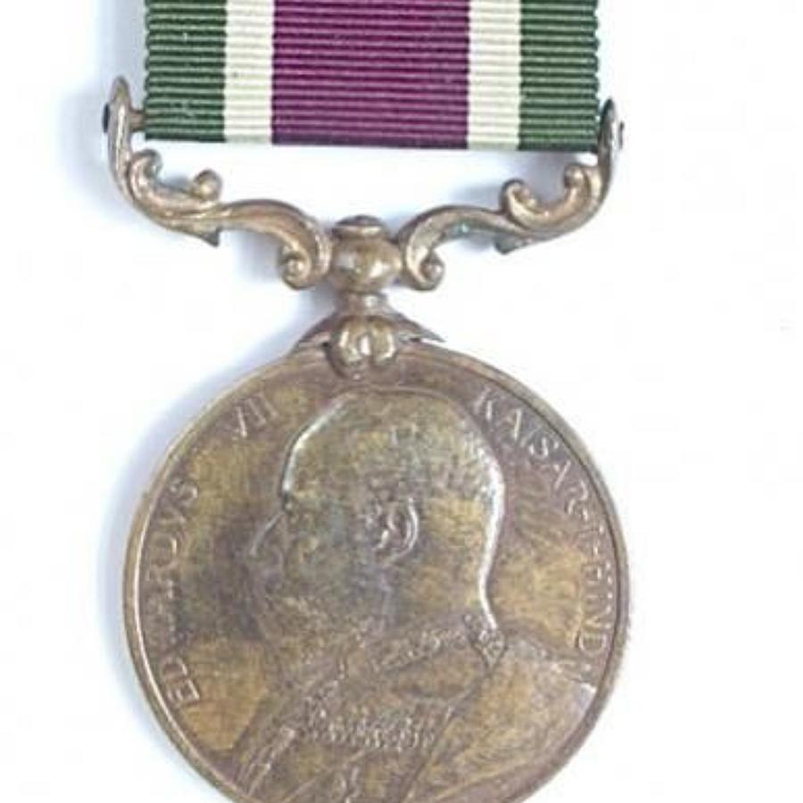 Supply & Transport Corps 1904 Tibet Medal.