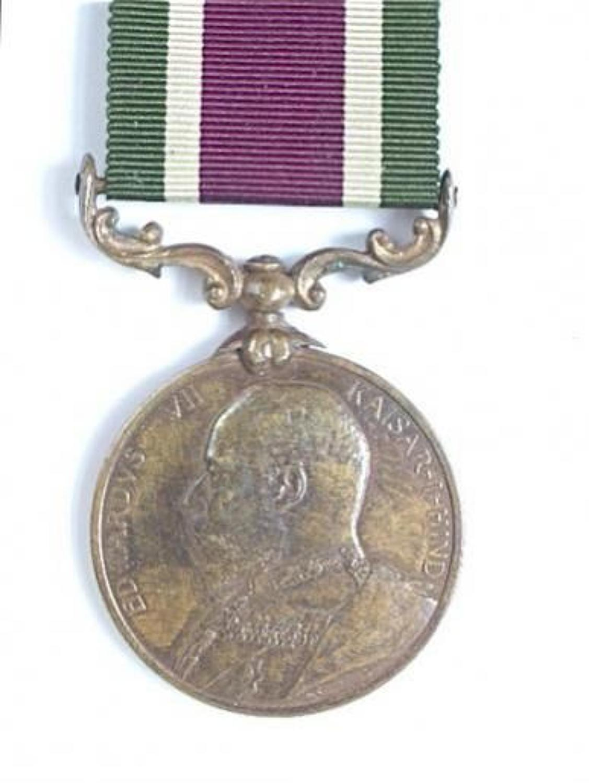 Supply & Transport Corps 1904 Tibet Medal.