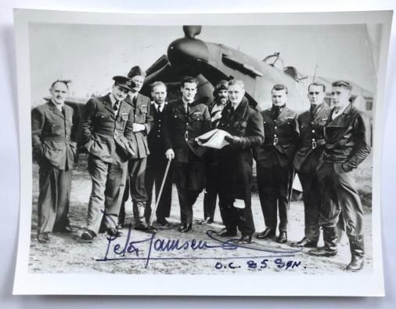 RAF Group Captain Peter Wooldridge Townsend, CVO, DSO, DFC & Bar Photo