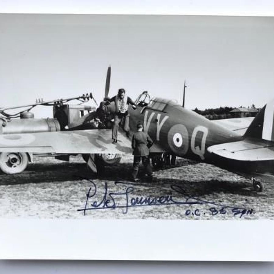 RAF Group Captain Peter Wooldridge Townsend, CVO, DSO, DFC & Bar Photo