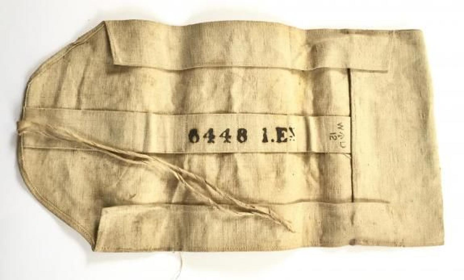 1st Bn Essex Regiment. WW1 Pattern Personal Kit Roll.