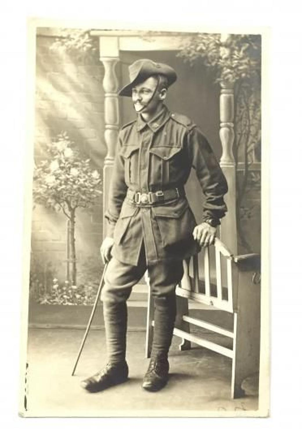 WW1 24th Bn Australian Imperial Forces Original Attributed Photograph.