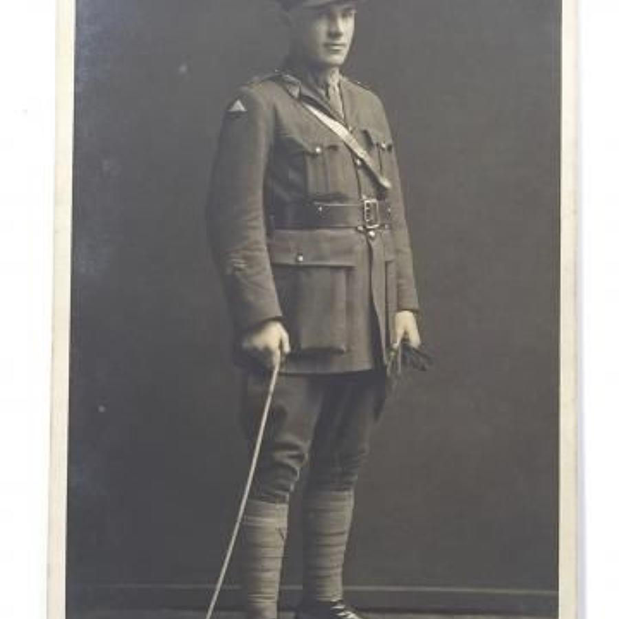 WW1 24th Bn Australian Imperial Forces Original Photograph.