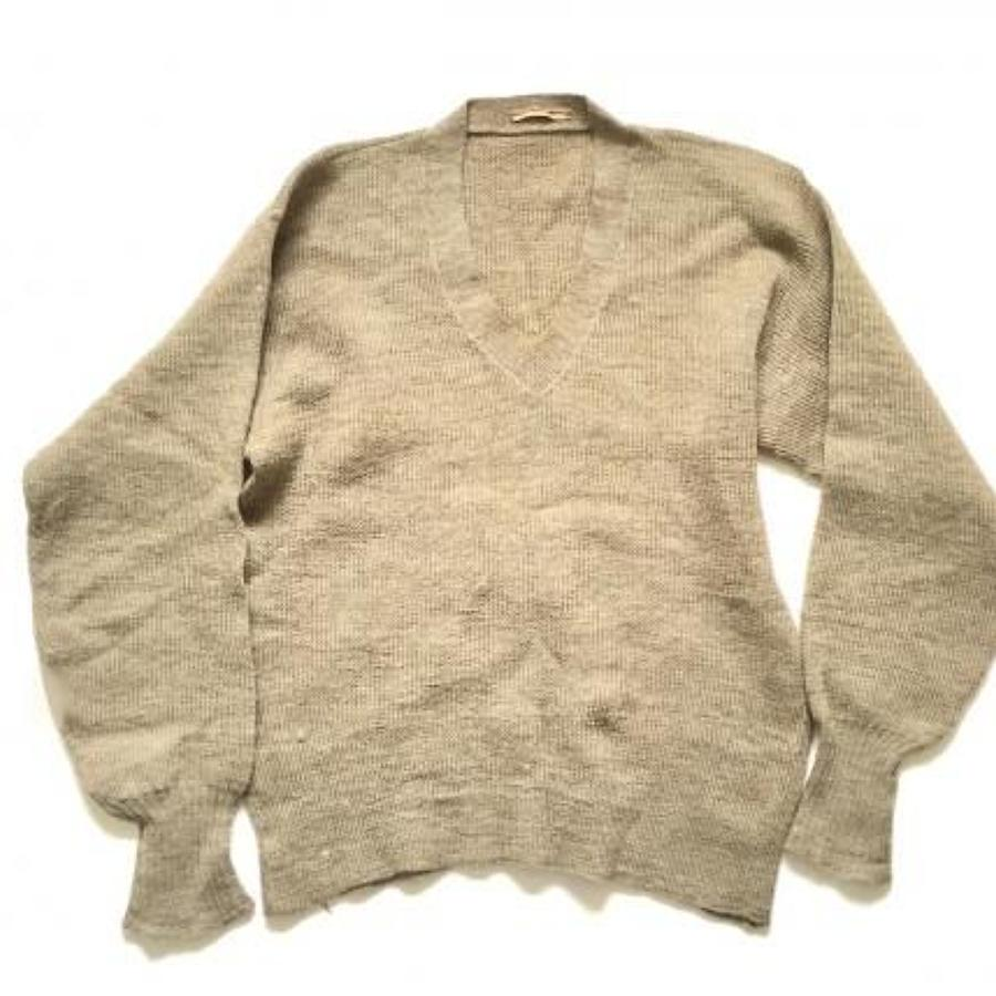 WW1 / WW2 British Army Home Comforts Wool Jumper.