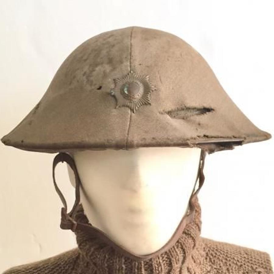 WW1 Coldstream Guards Brodie Helmet with Original Cover.