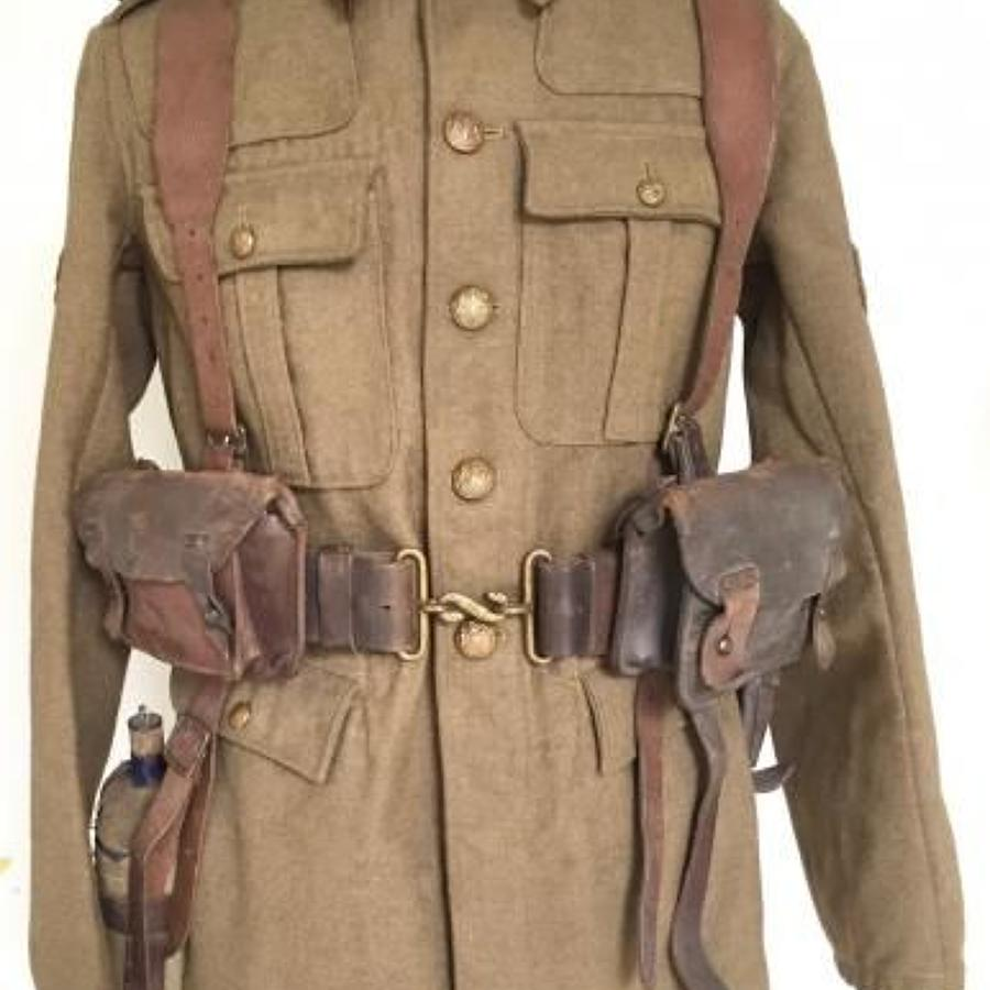WW1 1914 Leather Equipment.