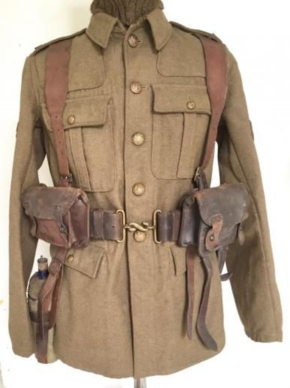 WW1 1914 Leather Equipment.