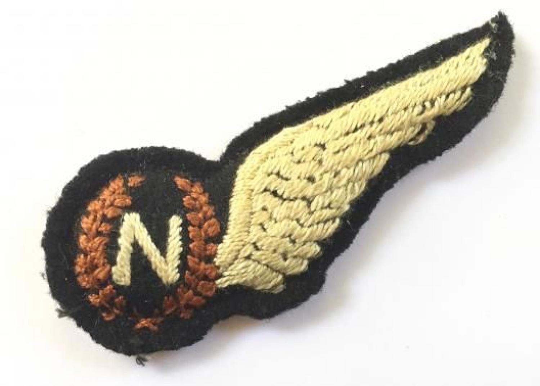 WW2 RAF Unusual Navigator's Brevet Badge.