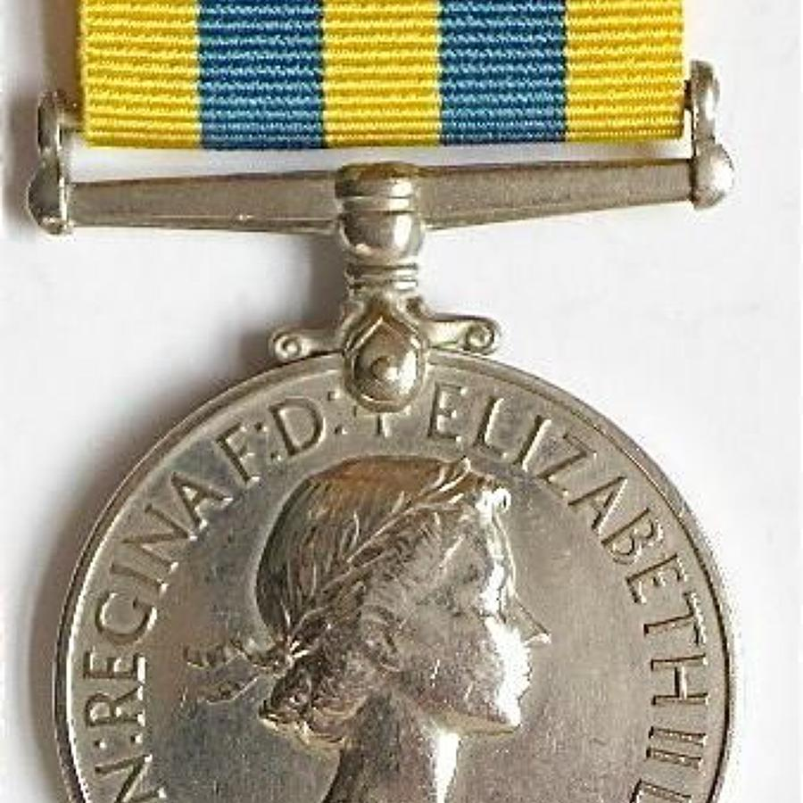 Royal Army Service Corps Korea Medal.