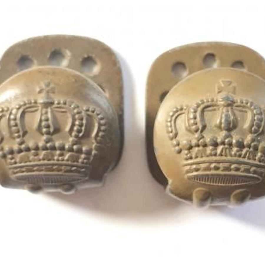 WW1 Imperial German Uniform Belt Buttons