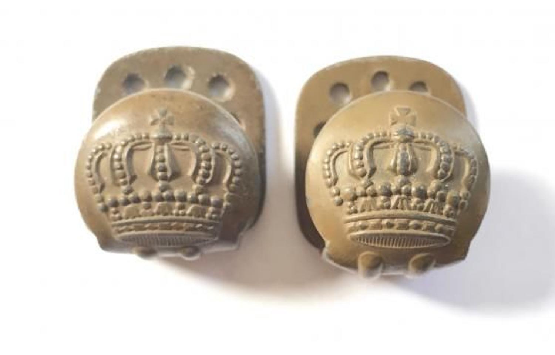 WW1 Imperial German Uniform Belt Buttons