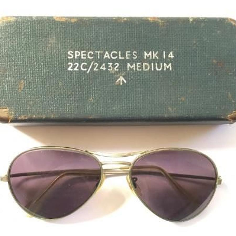 RAF Cold War Spectacles MK14 & Original Case.