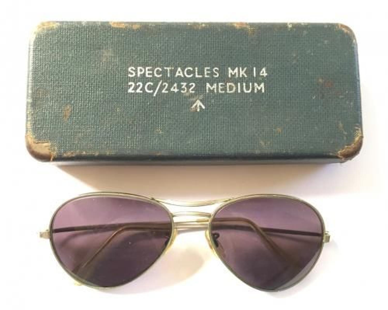 RAF Cold War Spectacles MK14 & Original Case.