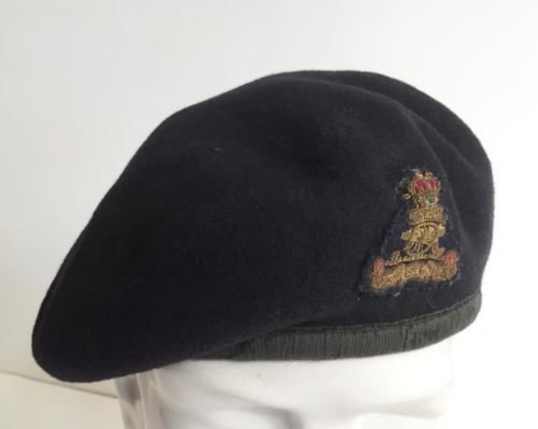 Royal Artillery Cold War Period Officer's Beret.