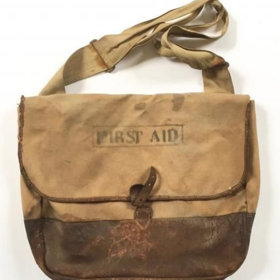 WW1 Period British Army Officer's Side Bag.